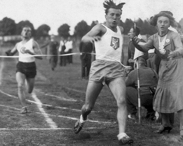 Antonín Čadek, kladenská atletiká legenda.