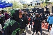 U obce Uhy se konala třídenní technopárty Czarotek 2019.