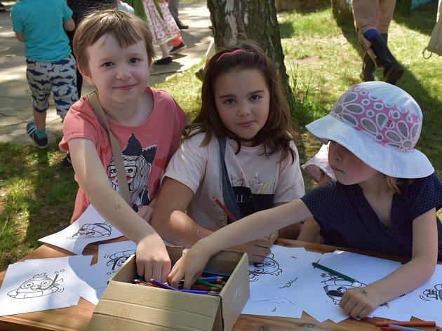 Sobotní program festivalu Tuchlovická pouť.