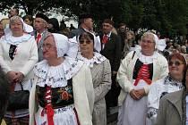 Terezínské tryzny se zúčastnili i bojovníci za svobodu a baráčníci z Kladenska i Slánska