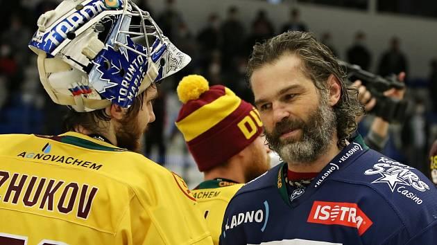 Rytíři Kladno - HC Dukla Jihlava 5:2, Finále play off první hokejové Chance ligy - 7. zápas, konečný stav 4 : 3 Kladno postupuje do EL