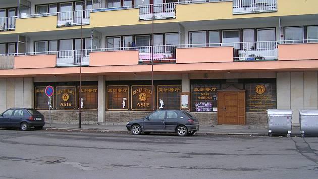 Restaurace Asie v Kladně měla  v sobotu odpoledne zavřeno.
