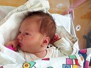 NATHALIA DUDA, KLADNO-ROZDĚLOV. Narodila se 27. dubna 2018. Po porodu vážila 4,38 kg a měřila 52 cm. Rodiče jsou Aneta Kolářová a Radoslaw Duda. (porodnice Slaný)
