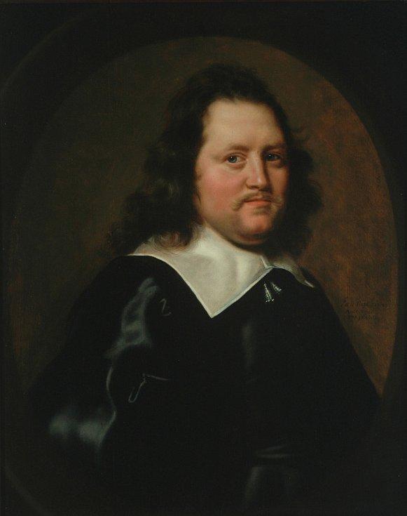 Abraham de Vries - Laurens de Geer (Naarden, Comenius Museum) – rok 1645, olej na plátně.