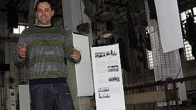 Vedoucí skanzenu Mayrau Pavel Rolinec