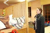 STAROSTKA TĚSNĚ po výbuchu zajišťovala rychlé náhradní ubytování pro obyvatele zničeného domu.