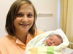 Štefan Gábor, Tuřany. Narodil se 3. srpna 2013. Váha 3,40 kg, 52 cm. Rodiče jsou Gabriela a Štefan Gáborovi (porodnice Slaný).