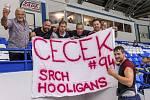 Kladno v úvodu sezony přehrálo doma Slavii 3:2. Fanklub Jiřího Cetkovského.