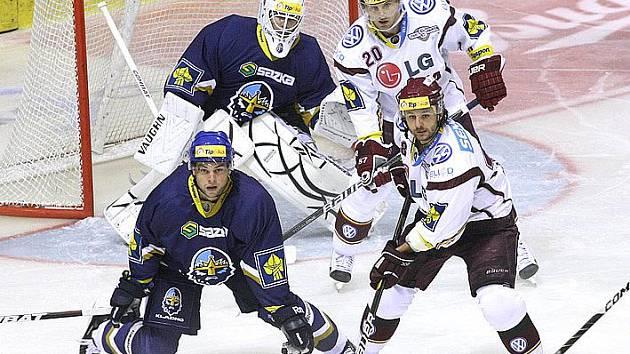 Rytíři Kladno - HC Sparta Praha, 2. kolo ELH 2011-12