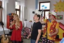 Bezděkovská mateřská škola Slunce oslavila 10. narozeniny.