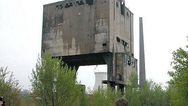 Bývalé koksovny na Koněvu.