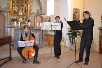 Komorní koncert v tuchlovickém kostele sv. Havla.