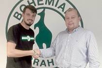 David Vedral (vpravo) a majitel Bohemky Darek Jakubowicz.