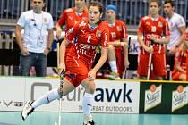 Nela Jiráková v reprezentačním dresu.