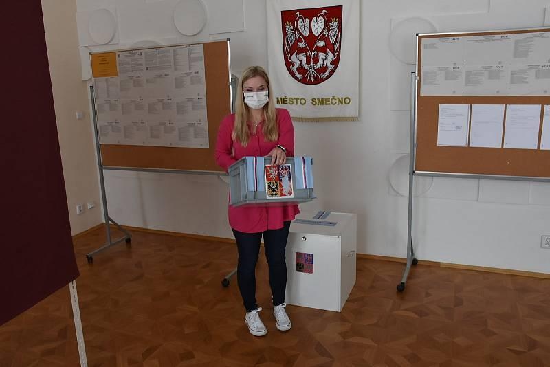 Parlamentní volby ve Smečně, 8. října 2021.