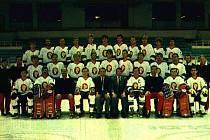 Poldi Kladno 1987-88, Antonín Routa je v horní řadě pátý zprava.