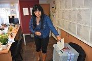 Volby v Královicích v budově úřadu