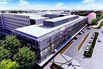 Nemocnice v Kladně, jak má vypadat po modernizaci.