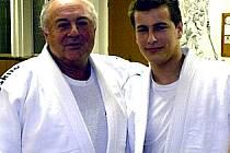 Velkým vzorem bronzového medailisty z MČR Michala Stránského je trenér Václav Novák.
