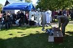 Slavnostní bohoslužby se účastnil kardinál Dominik Duka.