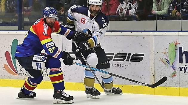 Kladno uspělo ve třetím barážovém duelu, porazilo 2:0 České Budějovice. Jaromír Jágr a Zdeněk Kutlák