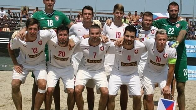 Reprezentace ČR v plážovém fotbale.