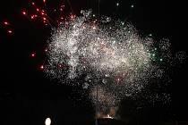 Světlice nad Kladnem aneb Vítání Nového roku.