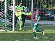 """Sokol Hostouň """"B"""" - TJ Sokol Mšec 0:1 (0:0), I.B. tř. sk. A, 3. 9. 2017"""