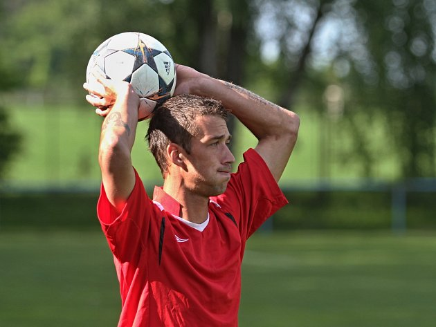 René Zlata (ještě v dresu SK Doksy) se domluvil s SK Lhota a hrát bude nově tam.
