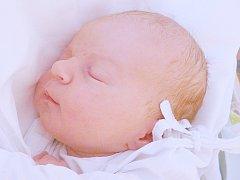 Denisa Karlová, Kladno. Narodila se 17. května 2015. Váha 3,60 kg, míra 51 cm. Rodiče jsou Kateřina Čihařová a David Karel (porodnice Kladno).