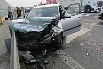Nehoda na sinici 16 u Velvar.