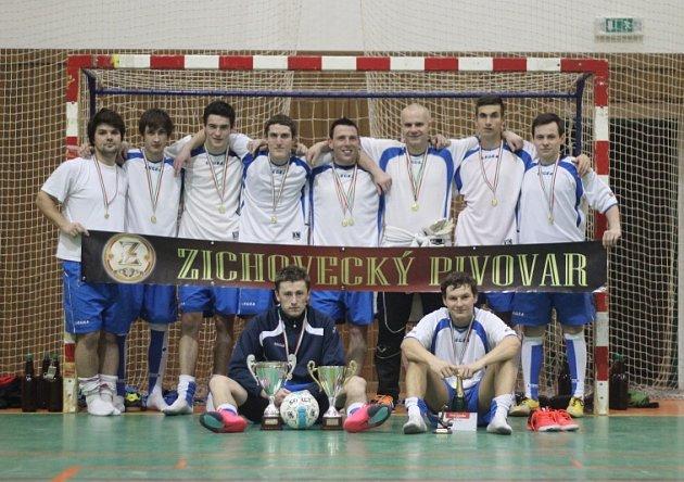 1. místo FC Mělník - JS Agency