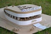 Studenti kladenské stavební průmyslovky vytvořili model národní knihovny a míří do finále soutěže.