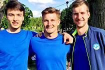 Vítězové: Jiří Mikulenka, Jiří Kraffer, Adam Zajíček.