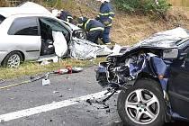 Starší Němec zemřel při dopravní nehodě na nebezpečném úseku z Prahy do Loun.