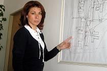 Kateřina Pancová, ředitelka kladenské nemocnice.