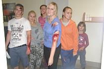 Cvičení záchranářů a lékařů kladenské nemocnice se konalo v úterý pozdě odpoledne.