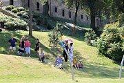 Slavnostní otevření zahrady buštěhradského zámku