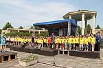 Přehlídka dětský souborů je již roky pevnou součástí pietní vzpomínky v Lidicích //  Pietní vzpomínka k 73. výročí vyhlazení obce Lidice nacisty