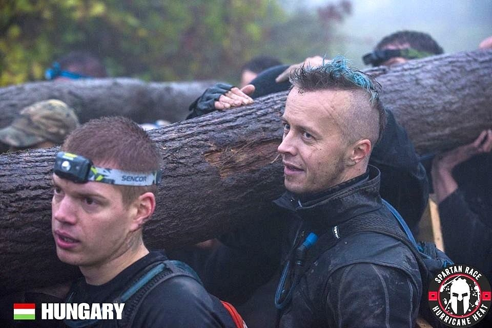 Spartan Tomáš Kučera v akci.