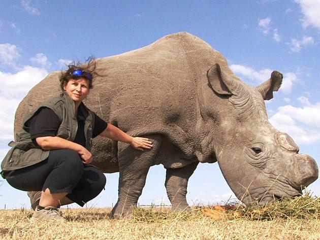 Dana Holečková na snímku v době, kdy byla ještě ředitelkou slavné Zoo Dvůr Králové.
