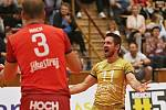 Kladno volejbal.cz – VK Jihostroj České Budějovice 1:3 , EL volejbalu, Kladno, 29. 9. 2018