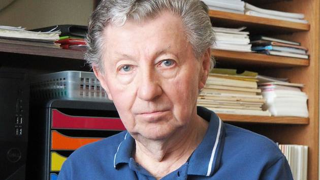 Kladenský kronikář a spisovatel Jaroslav Vykouk.