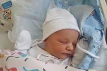 MATYÁŠ FANTA, KLADNO. Narodil se 19. prosince 2018. Po porodu vážil 3,3 kg a měřil 50 cm. Rodiče jsou Kateřina Oupicová a Patrik Fanta. (porodnice Kladno)