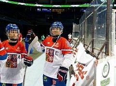 Bára Knotková na MS v in line hokeji