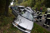 Nehoda u Kožovy hory.