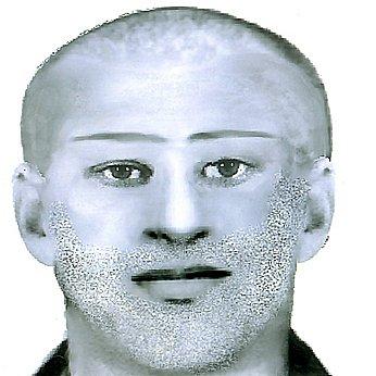 Tři různé varianty  útočníka, jak ho popsaly svědkyně. Policie se však domnívá, že se jedná o jednoho a toho samého pachatele.