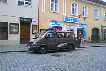 Akce cizinecké policie ve Slaném