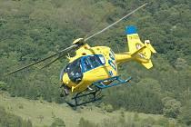 Na místě zasahovaly dva vrtulníky. Ilustrační foto.