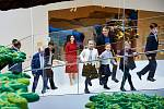 Slavnostní otevření Lego House v dánském Billundu. Největší 3D modely světa kompletovali zaměstnanci v kladenské továrně.